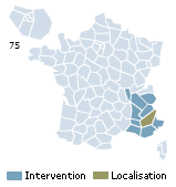 Couverture d'intervention pour formanosque